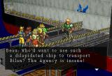 Dark Savior SEGA Saturn Intro ~ Other bounty hunters accompany Garian, the main character, to the dock where the prison ship lies.