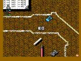Micro Machines NES Watch out for obstacles on the desktop