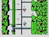 Micro Machines NES Flying choppers in two player mode