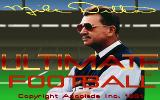 Mike Ditka Ultimate Football DOS Title screen.