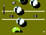 Micro Machines NES Avoid balls on the pool table