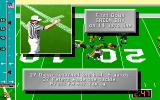 Mike Ditka Ultimate Football DOS 1st down on the 14 yard line, if I only knew how to move.