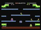 Mario Bros. NES Starting a new two player game