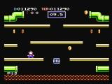 Mario Bros. NES Collect coins on the bonus phase