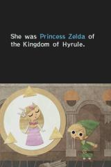 The Legend of Zelda: Phantom Hourglass Nintendo DS Previous history is told in static pictures...