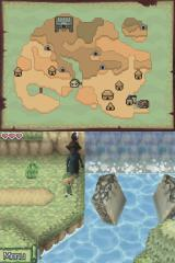 The Legend of Zelda: Phantom Hourglass Nintendo DS Near the broken bridge