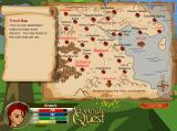 AdventureQuest Browser The easy-to-use travel map means that any of the notable locations of the realm is just a mouse-click away.