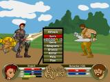 AdventureQuest Browser Enough site-seeing, let's starting hacking and slashing already!