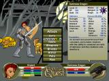 AdventureQuest Browser You can check out a monster's strengths and weaknesses using this display.
