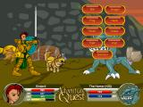 AdventureQuest Browser Beastmasters can summon creatures to their cause.