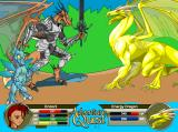 AdventureQuest Browser Dracomancers can shapeshift into a half-dragon form for a devastating attack against their opponents.