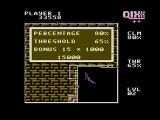 QIX NES Level complete