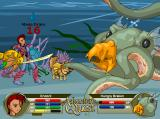 AdventureQuest Browser You can even explore underwater, where all manner of sea-life will try to eat you.