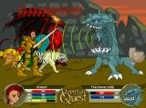 AdventureQuest Browser Some monsters will bite and claw you, while other monsters prefer a... different approach.