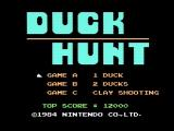 Duck Hunt NES Title screen