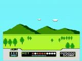 Duck Hunt NES Shooting clay pigeons