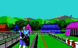 Defender of the Crown PC Booter The Joust (EGA)
