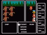 Final Fantasy NES Random battle