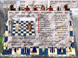 Chess Wars: A Medieval Fantasy DOS Main menu