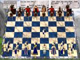 Chess Wars: A Medieval Fantasy DOS Game start