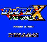 Mega Man Xtreme Game Boy Color Japanese Title Screen
