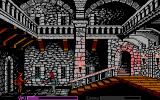 Defender of the Crown PC Booter Inside the castle (EGA)