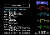 Gauntlet IV Genesis Options for the arcade mode
