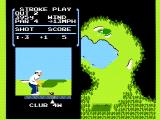 Golf NES Nearing the green