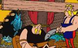 Asterix: Caesar's Challenge DOS Fish fight