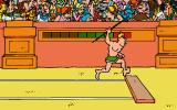 Asterix: Caesar's Challenge DOS Javelin game