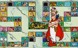 Asterix: Caesar's Challenge DOS The spy allows the piece to be moved anywhere in the board.