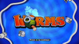 Worms Xbox 360 Title screen