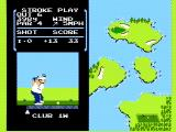 Golf NES The holes get more difficult as the game goes on