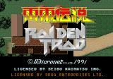 Raiden Genesis Title screen