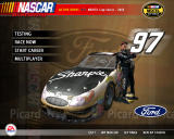 NASCAR SimRacing Windows Main menu