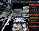 NASCAR SimRacing Windows Cockpit view with full of information