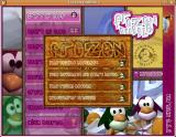Frozen Bubble Linux If you select a 1 player game, you get this menu.