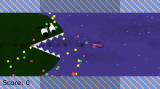 Avoid the Evil Space Eel Windows The giant eel chases the ship through space, eating everything in its way.