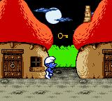 The Smurfs' Nightmare Game Boy Color You should get the key to enter the house.
