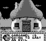 The Smurfs' Nightmare Game Boy Introduction