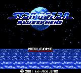 Star Ocean: Blue Sphere Game Boy Color Title screen