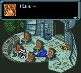 Star Ocean: Blue Sphere Game Boy Color Opera awakes after the crash.