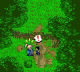 Star Ocean: Blue Sphere Game Boy Color Meeting the natives.