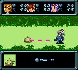 Star Ocean: Blue Sphere Game Boy Color Shooting as Opera.