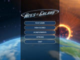 Aces of the Galaxy Windows Main menu