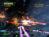 Aces of the Galaxy Windows The bright graphics make it somewhat difficult to distinguish the enemies.