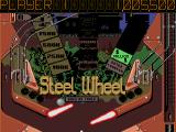 Pinball Dreams Amiga Steel Wheel pinball (bottom part).