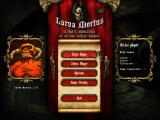 Larva Mortus Windows Main menu.