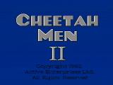CheetahMen II NES Title screen
