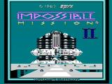 Impossible Mission II NES Title screen
